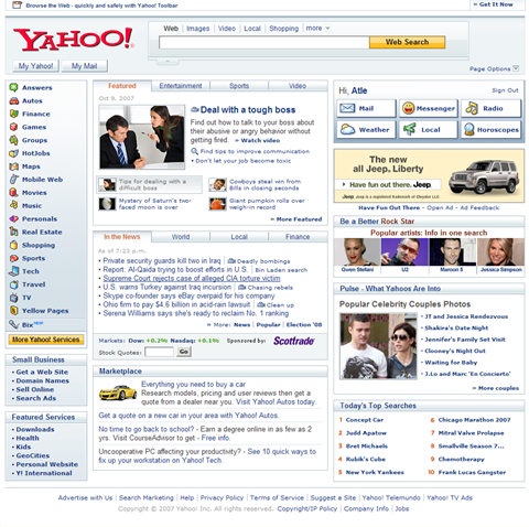 Yahoo 2007